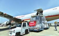 """西安开通国内首条""""陆空联运""""跨境电商货运直航"""