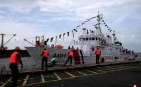 菲律宾接收首艘日本援助的大型巡逻艇