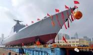 052D型成都舰下水 大船集团一号船台完美谢幕
