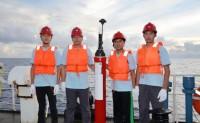 """""""南海Argo区域海洋观测网""""拉开序幕 布放首批国产北斗剖面浮标"""