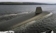 """英国新一代""""继承者""""战略核潜艇首艇被命名为""""无畏号"""""""