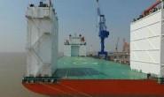 中国首艘军民两用5万吨级半潜船投入使用