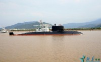中国首艘AIP潜艇服役10多年 安全潜航数十万海里