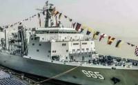 20年来全球首艘快速战斗支援舰在中国服役