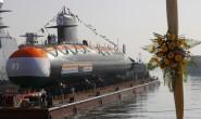 """印度第二艘""""鮋鱼""""级潜艇海试受阻,延期至明年入役"""