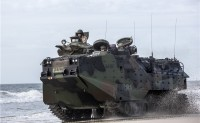BAE系统公司将向台湾提供36辆AAV7A1两栖装甲车