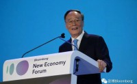 王岐山副主席在彭博创新经济论坛开幕式上的致辞