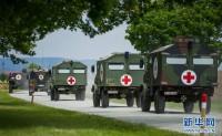 解放军卫勤力量首次实兵实装成建制赴欧洲开展联合演习