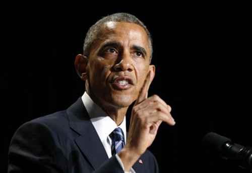 U.S. President Barack Obama speaks at the National Prayer Breakfast in Washington
