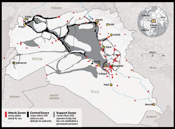 伊斯兰国占领区
