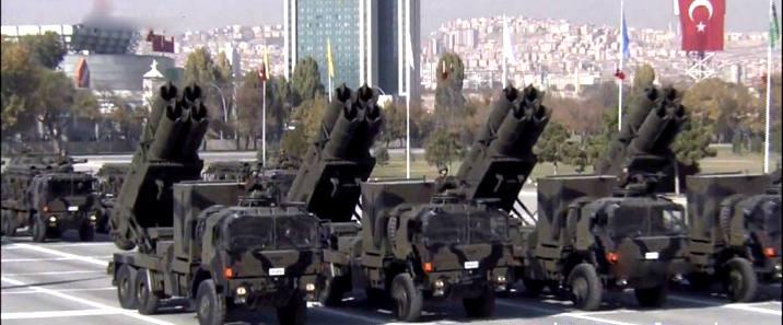 土耳其进口中国火箭炮