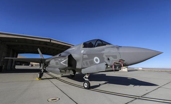17 (Reserve) Squadron Begin UK F-35 Testing
