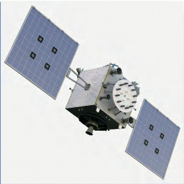 """""""印度区域导航卫星系统""""飞行示意图"""