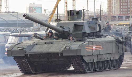 """T-14""""阿玛塔""""主战坦克"""