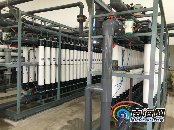 三沙永兴千吨海水淡化厂