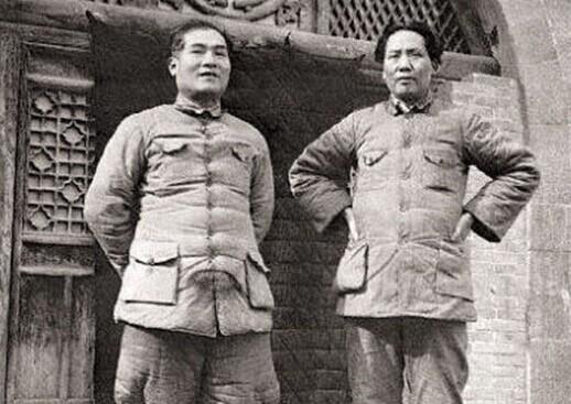 红军时期张国焘与毛主席
