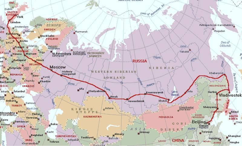 西伯利亚大铁路