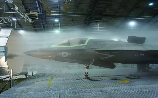 F-35B进行冷试验
