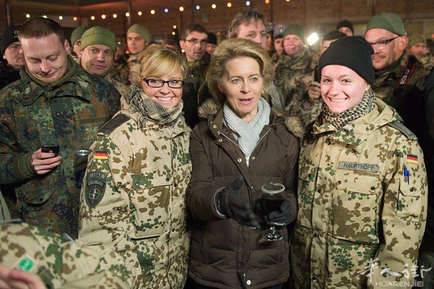 德国国防部长冯德莱恩