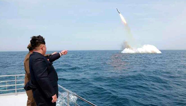 朝鲜潜射导弹