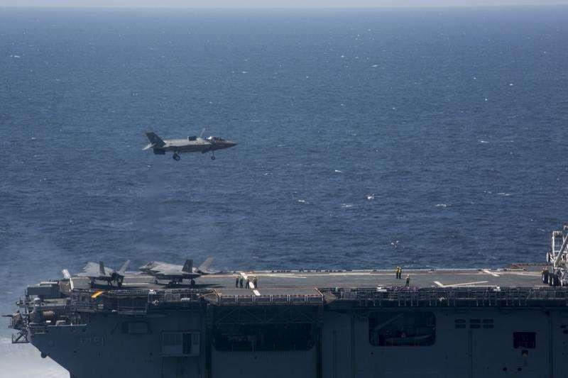 F-35B上舰