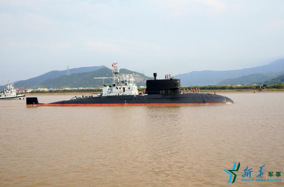 肖海生工作的潜艇
