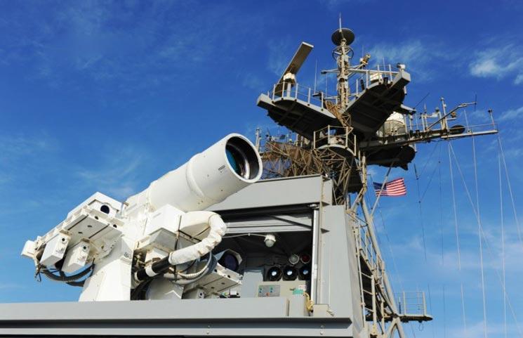 水面海军激光武器系统