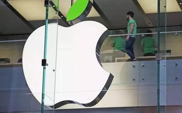 苹果公司变绿