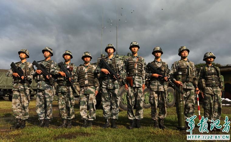 118旅步兵班