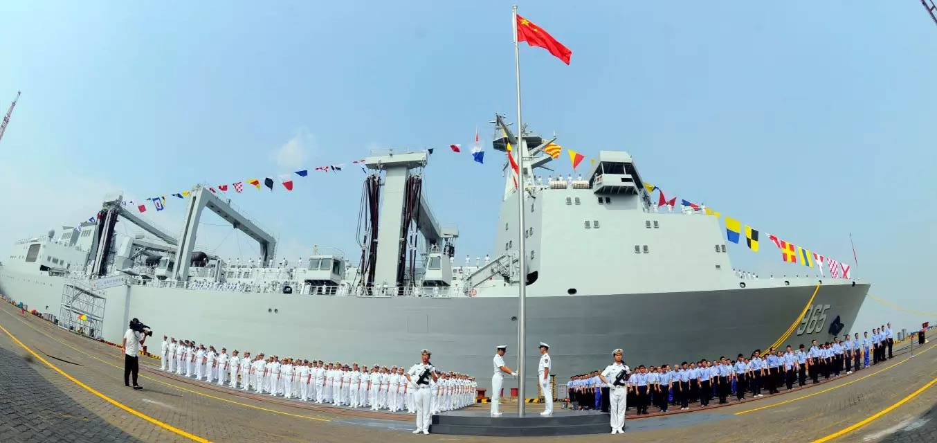 965舰服役
