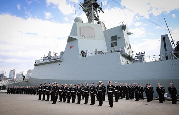 HMAS Hobart Commissioning
