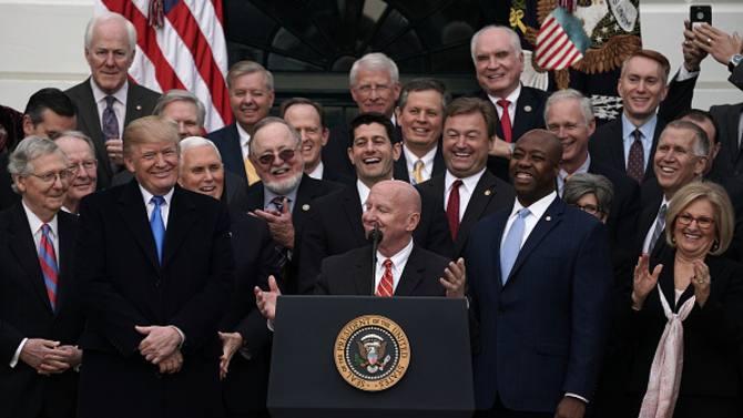 减税案通过