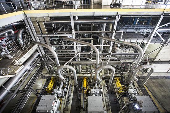 华能北京热电厂燃煤机