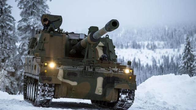挪威K9自行榴弹炮