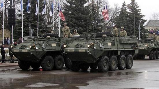 斯特瑞克步兵战车