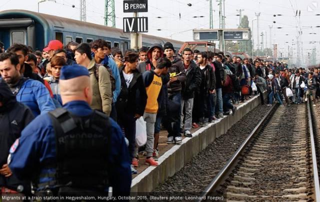 欧洲移民危机