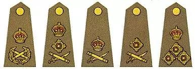 英国陆军军衔