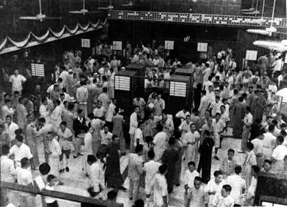 上海证券交易所开幕日交易场景