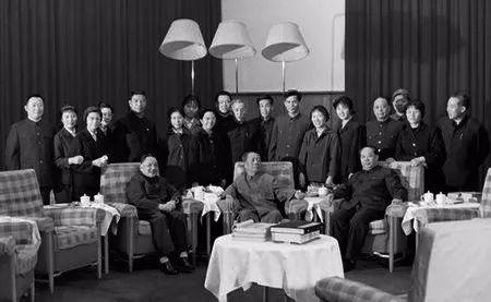 邓小平在毛泽东的客厅里