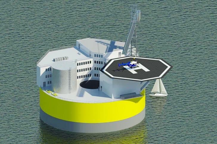 小型海上核电站(OFNP)
