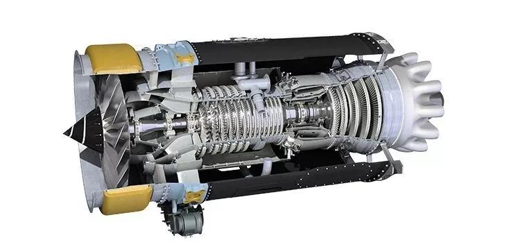 AE3007N涡扇发动机结构图