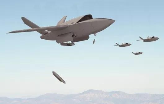 XQ-58A无人机集群作战