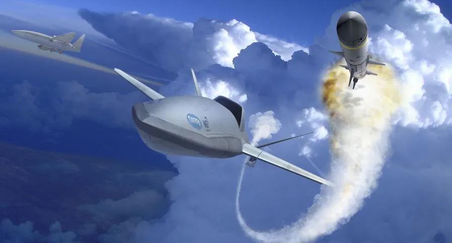 诺斯罗普·格鲁曼公司发布LongShot无人机概念图