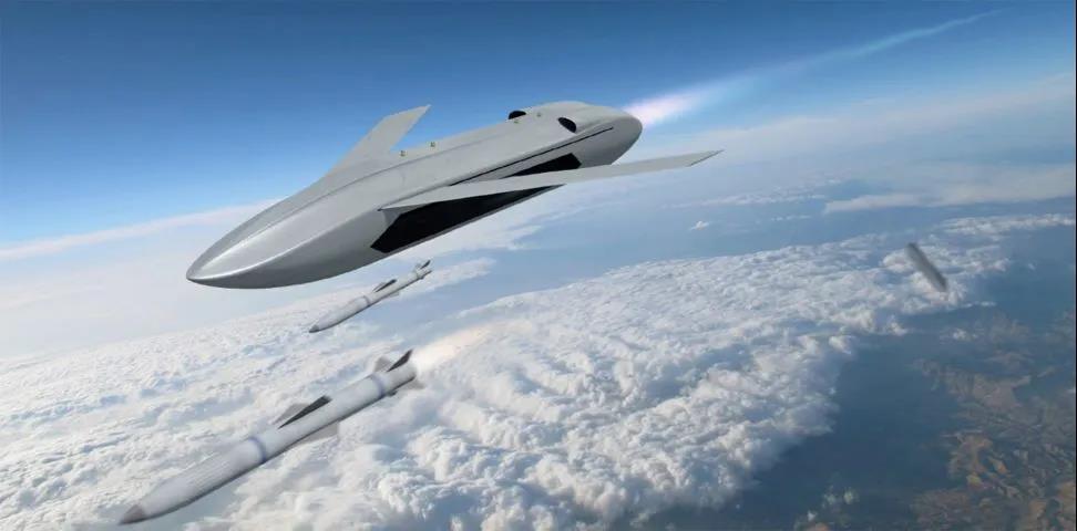 "DARPA发布的""远射""项目的概念图"